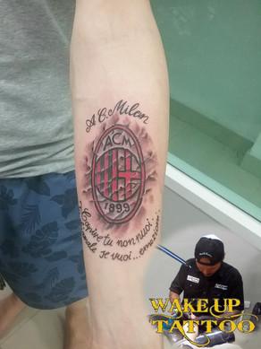 3D tattoo by wake up Tattoo at Patong Beach Phuket
