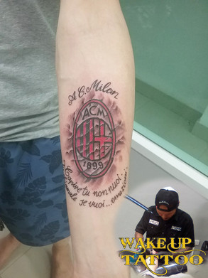 3D tattoo by wake up Tattoo at Patong Beach Phuket