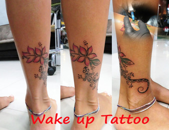 Polynesian tattoo by Wake up Tattoo Phuket