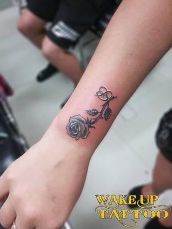Rose & B Tattoo by Wake up Tattoo Phuket