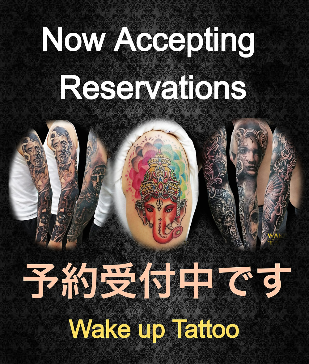 Now Accepting Reservations at Wake up Tattoo Phuket