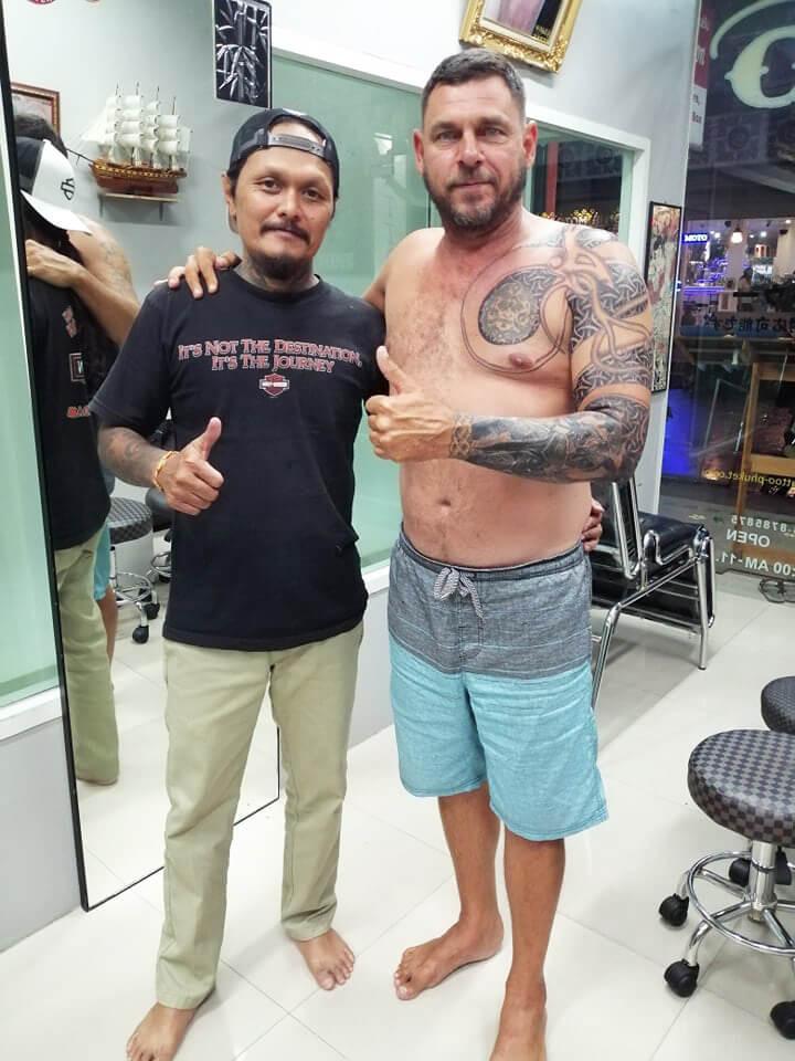 Take care my Friend by Wake up Tattoo Phuket