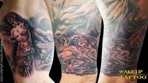 Venus De Milo Tattoos by Wake up Tattoo Phuket