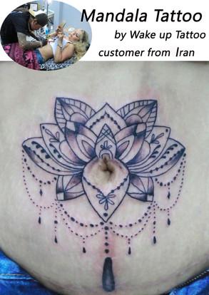 Mandala Jewelry Tattoo by Wake up Tattoo Phuket