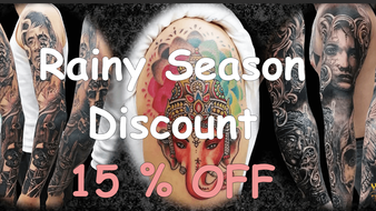 15% Discount NOW by Wake up Tattoo Phuket