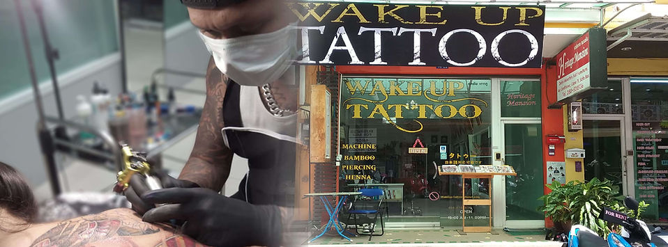Patong Tattoo Studio at Wake up Tattoo Phuket