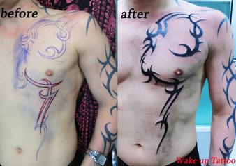 Tribal Tattoo by Wake up Tattoo Phuket