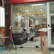 Wake up Tattoo Phuket studio entrance photo