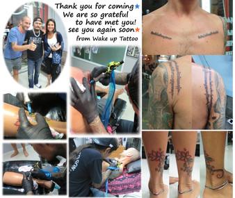 Hope See you again soon by Wake up Tattoo Phuket