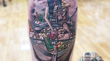 ONE PIECE Tattoo by Wake up Tattoo Phuket in Patong, Phuket, Thailand