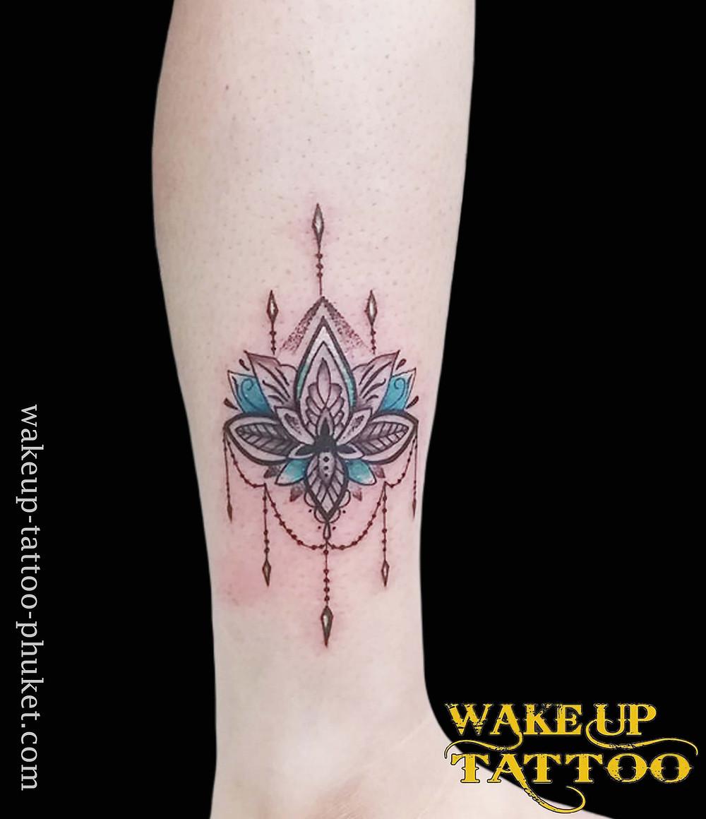 Mandala tattoo by Wake up Tattoo Phuket