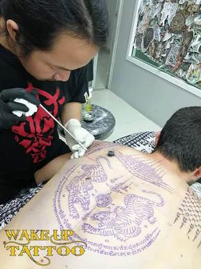 Tattoo studio in Phuket, Patong   Bamboo Tattoo   Traditional tattoo