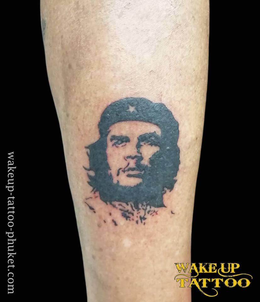 Che Guevara Tattoo design by Wake up tattoo Phuket