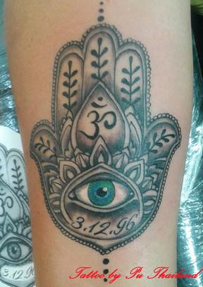 Mandala Tattoo by Pu Thailand