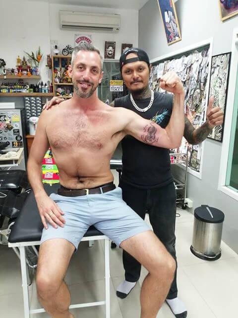 Miss my customer by Wakeup Tattoo Phuket