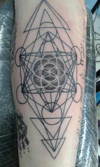 Dot tattoo design by Wake up tattoo Phuket