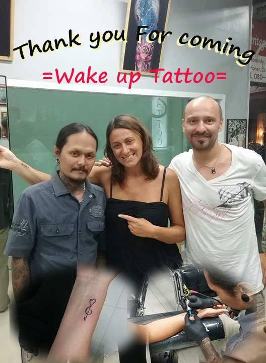 hart tattoo by Wake up Tattoo Phuket