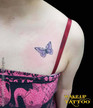 Tattoo Studio in Phuket, Patong   small butterfly tattoo