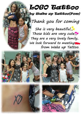 LOGO Tattoo by Wake up Tattoo Phuket (Pom)