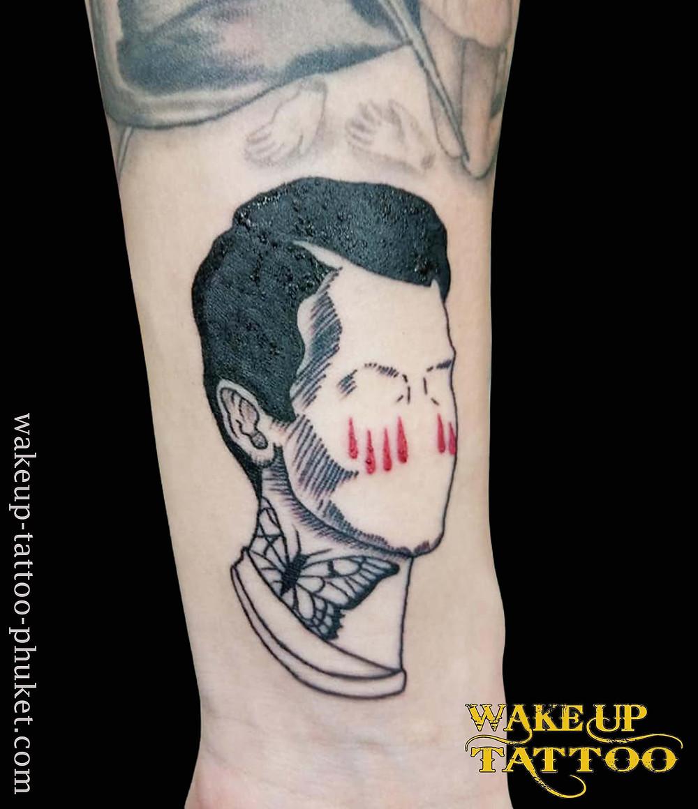 Oldschool Tattoo design by Wake up Tattoo Phuket