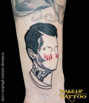 Old school Tattoo design by Wake up Tattoo Phuket