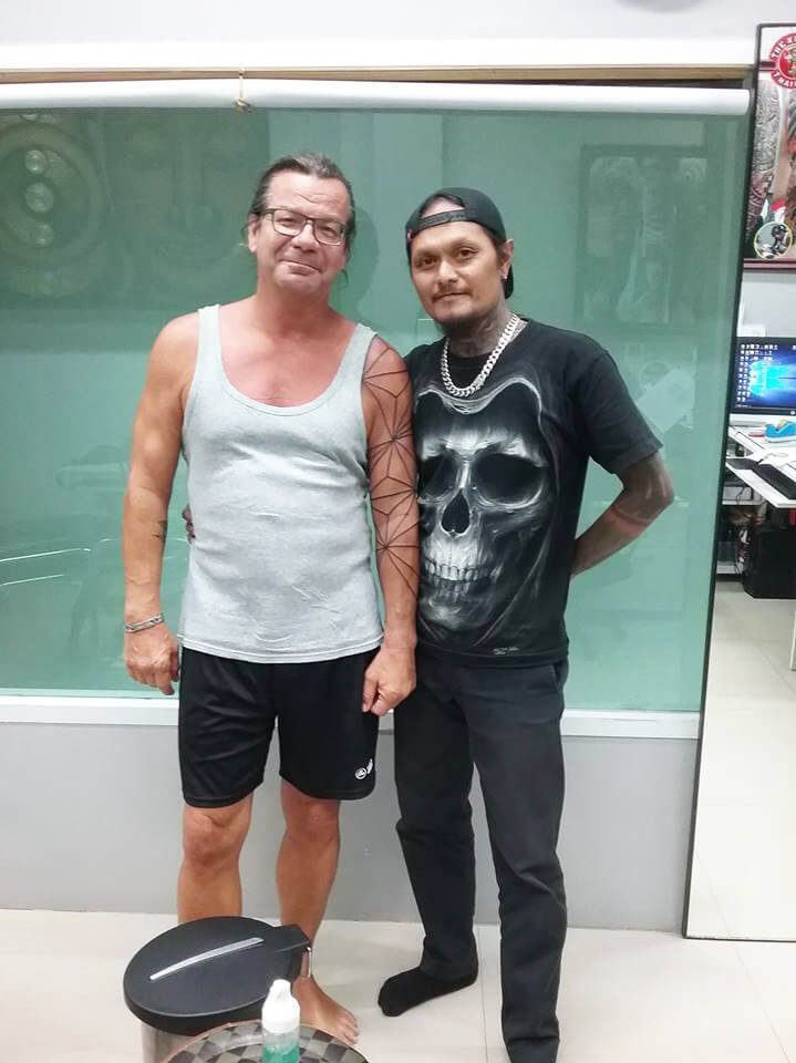 Customer of Wake up Tattoo Phuket