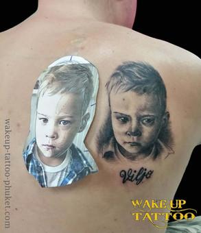 Realistic Tattoos | Wake up Tattoo Phuket