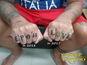 Finger tattoo by Wake up Tattoo at Patong Beach Phuket