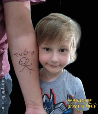 Original design tattoo by Wake up Tattoo Phuket