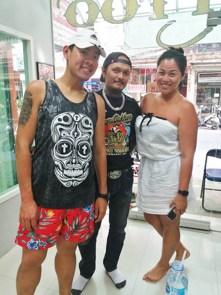 Thank you for coming at Wake up Tattoo Phuket