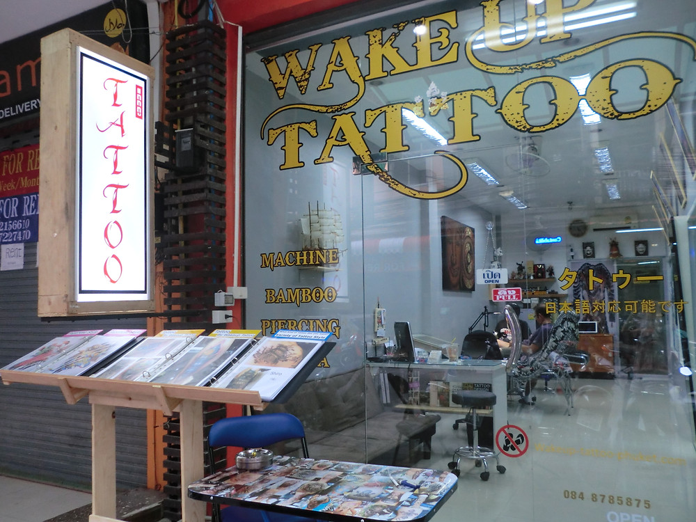 Your welcome by Wake up Tattoo Phuket