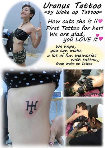 Uranus Tattoo by Wake up Tattoo Phuket