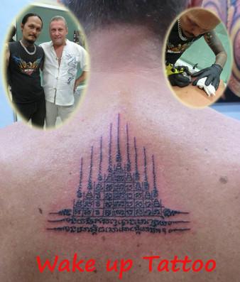 Thai style Tattoo by Wake up Tattoo Phuket