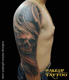 Skull Black Tattoo   Tattoo studio in Phuket, Patong