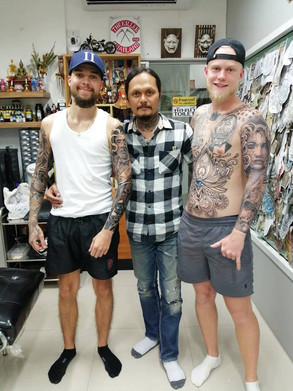 Miss you our customers by Wake up Tattoo Phuket