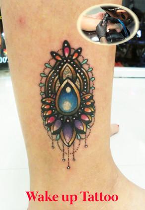 Jewelry tattoo by Wake up Tattoo Phuket