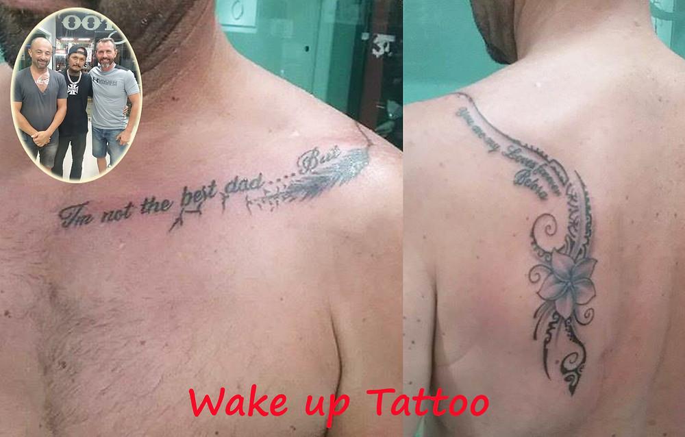 Maori style Tattoo by Wake up Tattoo Phuket