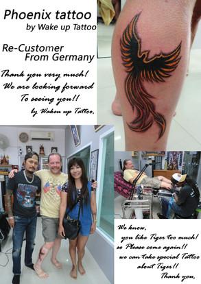 Phoenix Tattoo by Wake up Tattoo Phuket