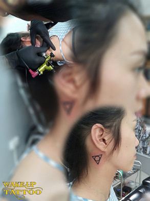 logo tattoo by Wake up Tattoo Phuket