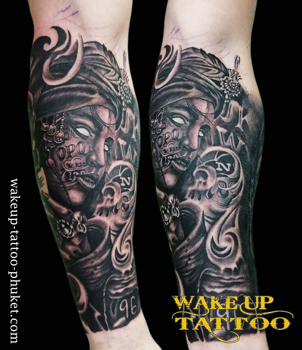 Day 2. Tattoo by Wake up Tattoo Phuket