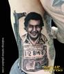 Pablo Escobar   Pablo Emilio Escobar Gaviria   Tattoo, Phuket