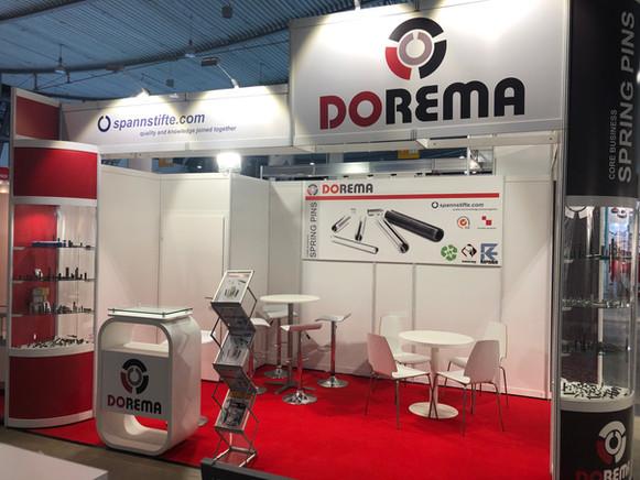 Fastener fair 2019-Dorema stand3