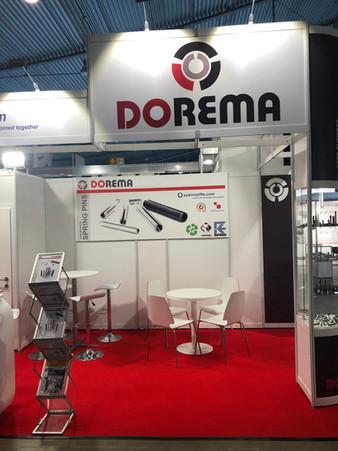 Fastener fair 2019-Dorema stand4