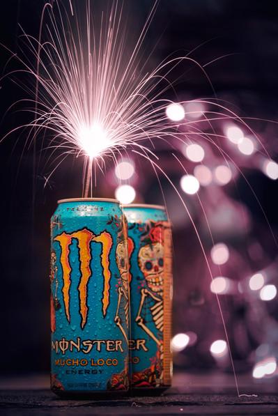 Monster Energy Día de Muertos