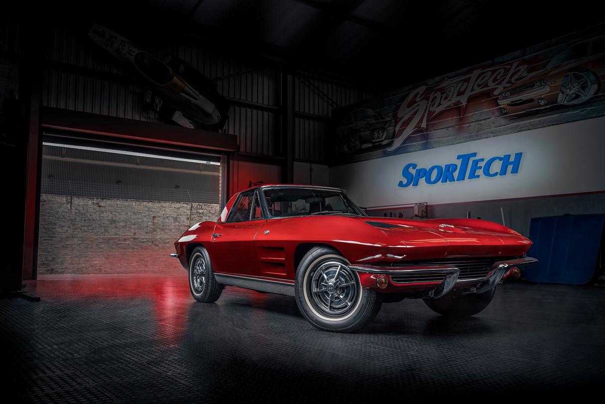 Sportech Red Corvette Stingray