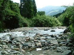 球磨川支流