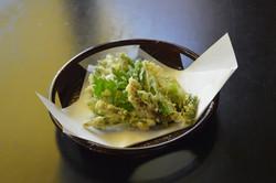 市房観光ホテル・山菜天ぷら