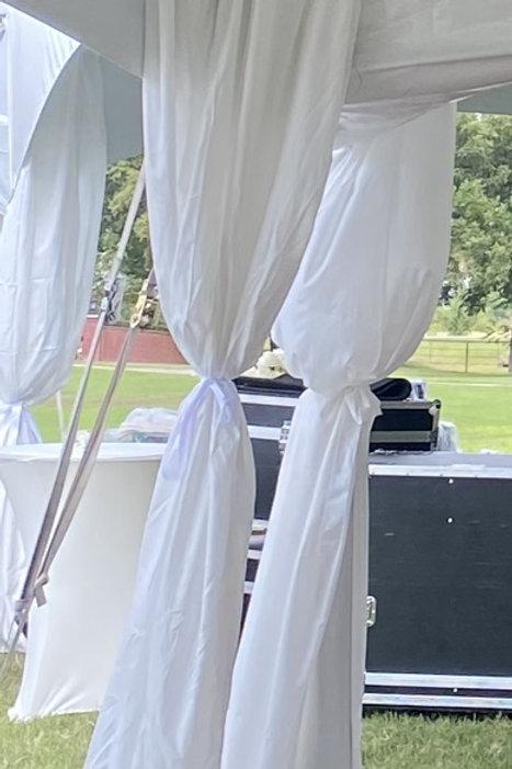 Tent Leg Drape