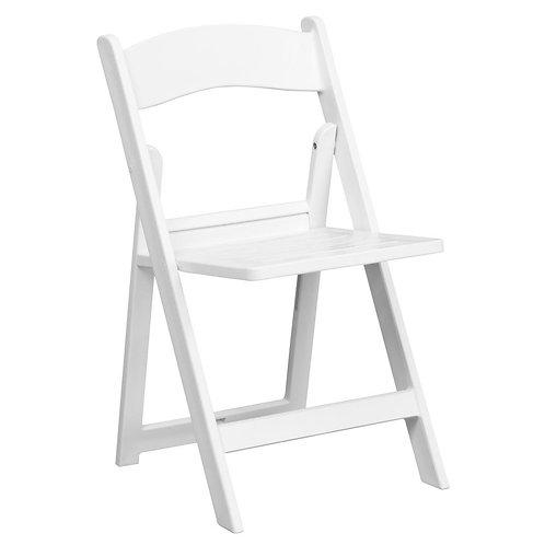 White Garden Chair