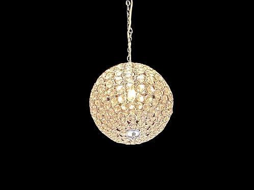 "13"" Crystal Ball Chandelier"